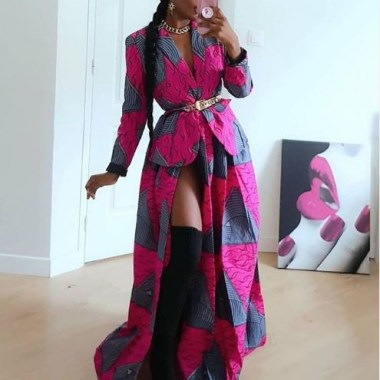 ankara latest styles ankara latest styles - Ankara Latest Styles 49 380x380 - African Fashion: 70+ Creative, Trendy and Stylish Ankara Latest Styles