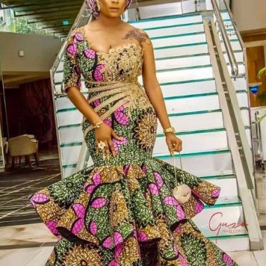 ankara latest styles ankara latest styles - Ankara Latest Styles 51 380x380 - African Fashion: 70+ Creative, Trendy and Stylish Ankara Latest Styles