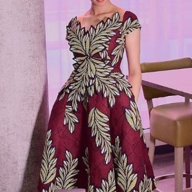 ankara latest styles ankara latest styles - Ankara Latest Styles 53 380x380 - African Fashion: 70+ Creative, Trendy and Stylish Ankara Latest Styles