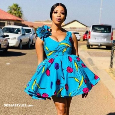 ankara latest styles - Ankara Latest Styles 57 380x380 - African Fashion: 70+ Creative, Trendy and Stylish Ankara Latest Styles