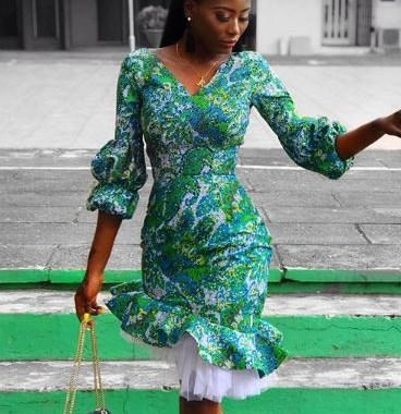ankara latest styles ankara latest styles - Ankara Latest Styles 60 368x380 - African Fashion: 70+ Creative, Trendy and Stylish Ankara Latest Styles
