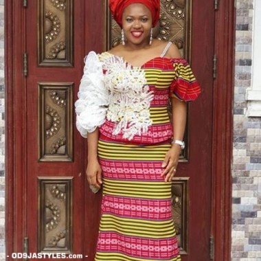 ankara latest styles ankara latest styles - Ankara Latest Styles 8 380x380 - African Fashion: 70+ Creative, Trendy and Stylish Ankara Latest Styles