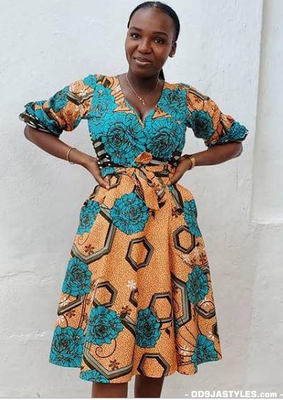 Latest Nigeria Ankara Styles  latest nigerian ankara styles - Latest Nigeria Ankara Styles 80 Collection of Ankara Fashion Designs 25 - Latest Nigerian Ankara Styles | 101 Collection of Ankara Fashion Designs