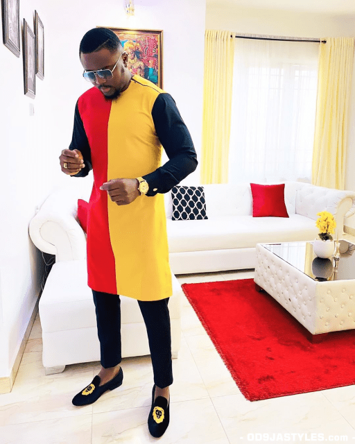 Native Casual Dress Outfits for Nigerian Men native casual dress outfits for nigerian men - Native Casual Dress Outfits for Nigerian Men 1 512x640 - Smart Native Casual Dress Outfits for Nigerian Men