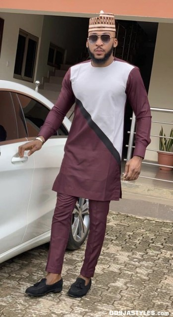 Native Casual Dress Outfits for Nigerian Men native casual dress outfits for nigerian men - Native Casual Dress Outfits for Nigerian Men 11 349x640 - Smart Native Casual Dress Outfits for Nigerian Men
