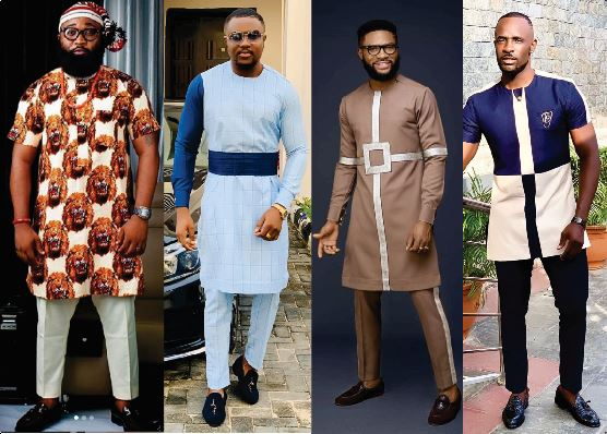 Native Casual Dress Outfits for Nigerian Men