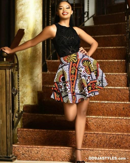 latest african fashion latest ankara ovation magazine - Unique Ankara Dresses 38 512x640 - 100+Pictures Of The Latest Ankara Ovation Magazine: Unique Ankara Dresses 2020