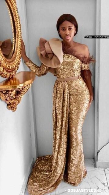 latest african fashion latest ankara ovation magazine - Unique Ankara Dresses 40 358x640 - 100+Pictures Of The Latest Ankara Ovation Magazine: Unique Ankara Dresses 2020