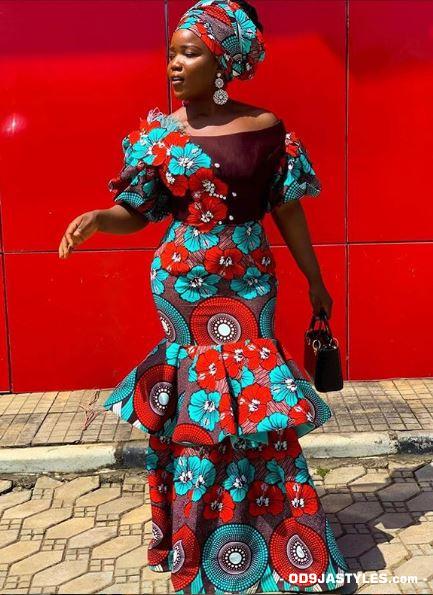 latest african fashion latest ankara ovation magazine - Unique Ankara Dresses 42 - 100+Pictures Of The Latest Ankara Ovation Magazine: Unique Ankara Dresses 2020