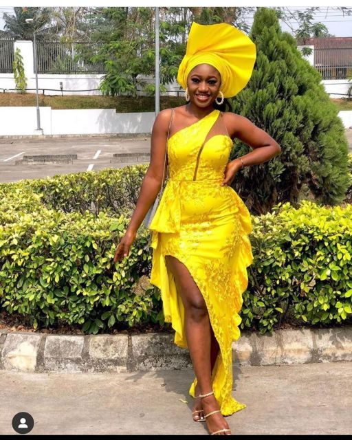 Aso Ebi Styles 2020 aso ebi styles 2020 - Aso Ebi Styles 2020 15 512x640 - 30 Aso Ebi Styles 2020 For Classy African Ladies To Try Out
