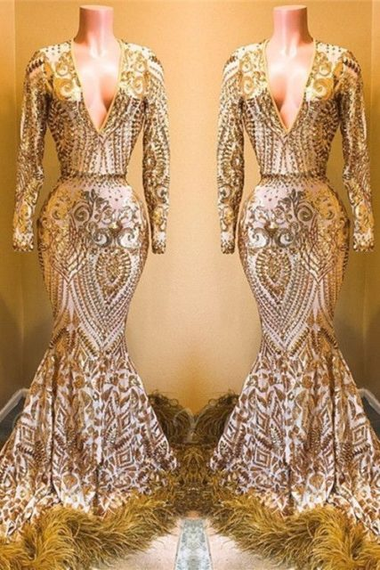 Gold Lace AsoEbi Dresses These 25 Gold Lace AsoEbi Dresses Are Nothing But Stunning and Gorgeous