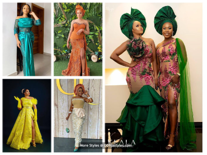 100 Pictures: Latest Aso-Ebi Dresses Styles 2020 For Pretty Ladies