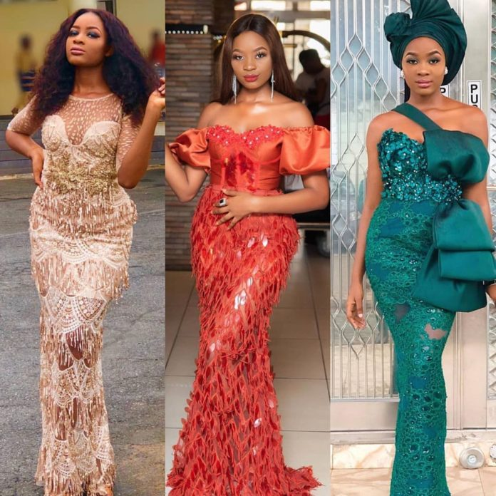 Lace and Ankara Styles Women: 2020 Most Stylishly Flawless and Fascinating Asoebi Styles