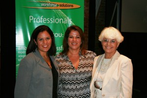 Me with Mayda Sotomayor-Kirk of Seald Sweet and Rosalie Hakker of Contract Trainers