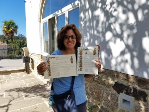 My Compostela and Distance Certificate