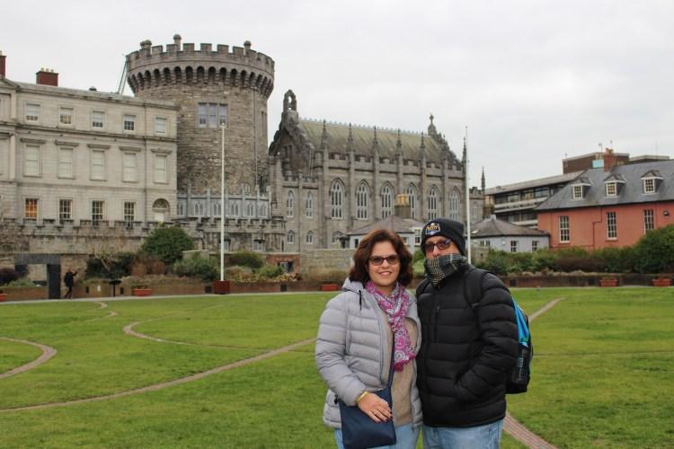 The Victorios at Dublin Castle, sightseeing in Dublin