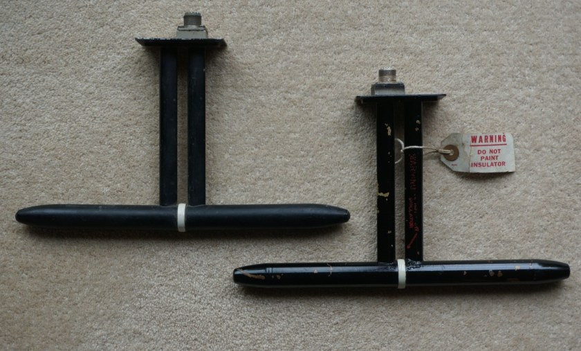 1.The two dipole antennas, each 290mm long