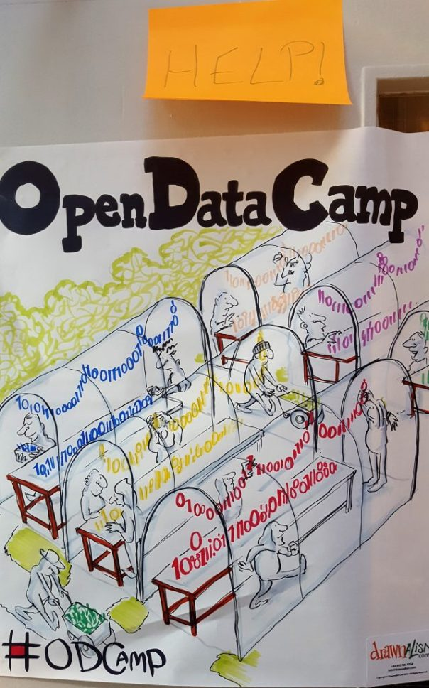 Open Data Camp by Drawnalism