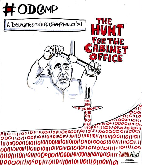 The hunt for the cabinet office