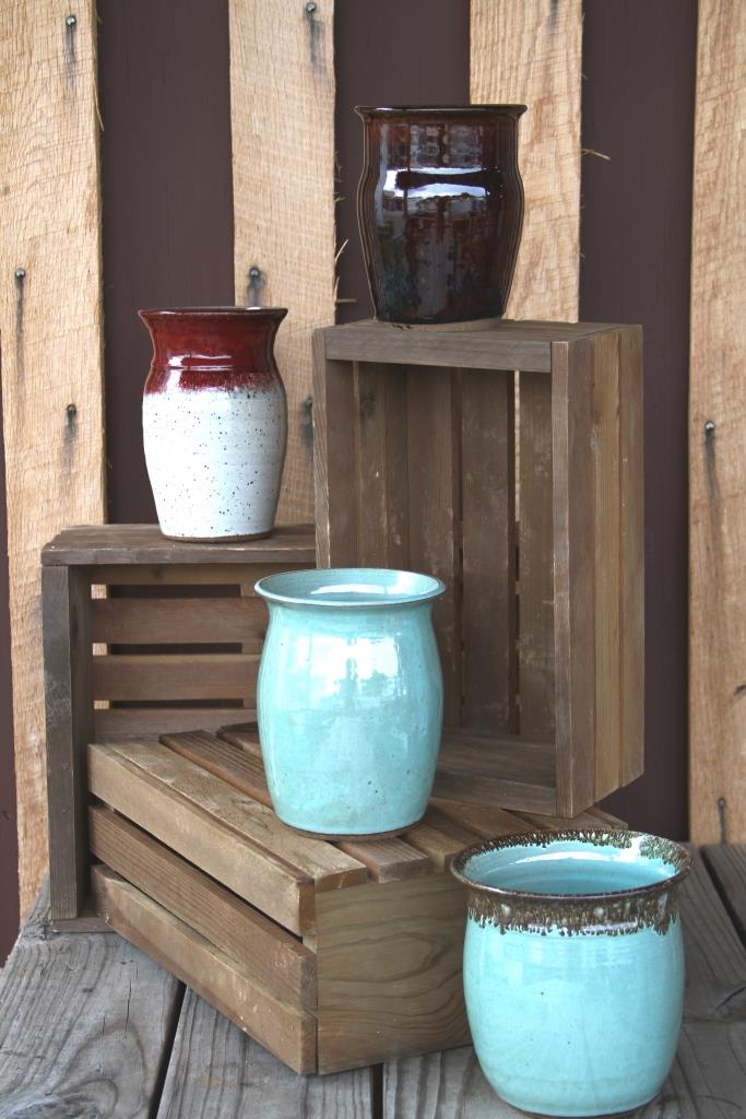 Pots And Vases By Greg Hall Of Oddbowlz Ceramics