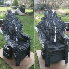 Iron Throne Chair Backboard Good Office 10 Of The Coolest Got Renditions Oddee 7keyboard S