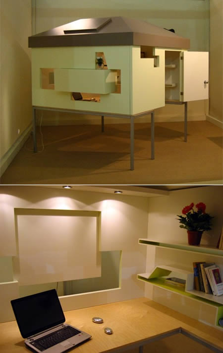 12 Coolest Cubicles and Work Spaces  cubicles office