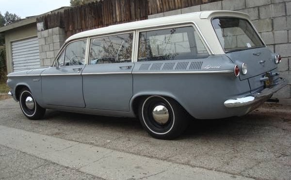 Extremely Rare Wagon: Corvair Lakewood