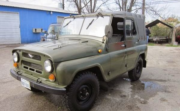 The Best Vehicle Ever Made in Ulyanovsk, Russia?