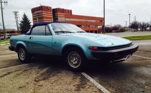 Rarely Seen Triumph TR8