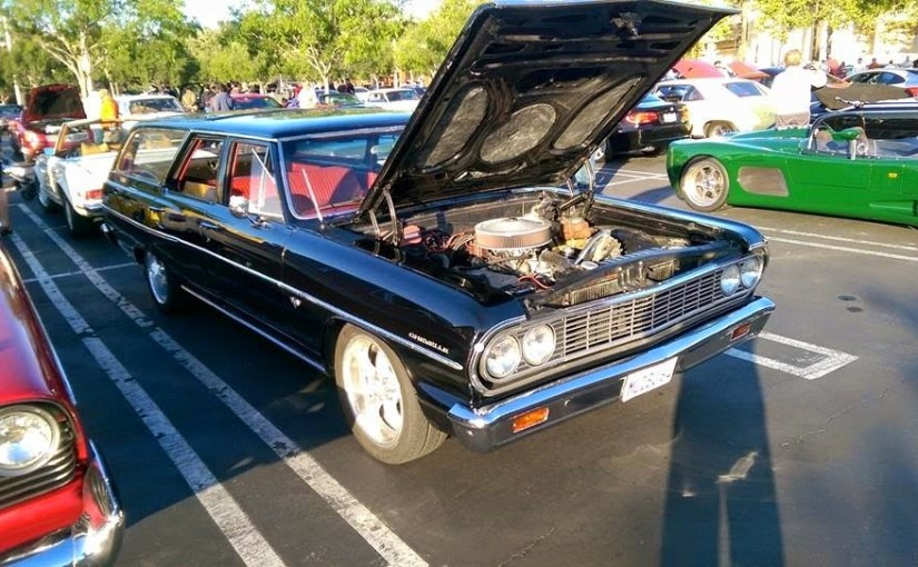 Aliso Viejo Cars and Coffee Sighting!