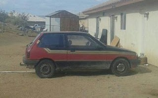 Paint job worth more than car?  1985 Chevy Sprint