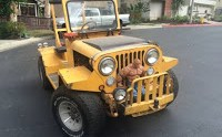 1975 Jeep Airport Tug with Thing