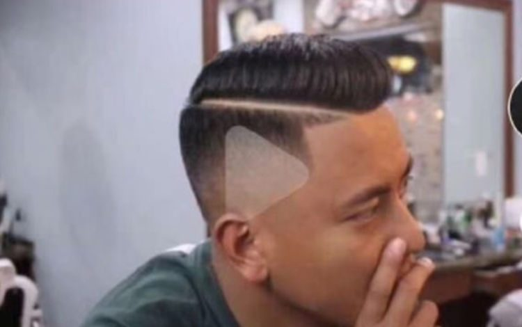 Man Gets Shaven Play Symbols In New Hairdo After Asking