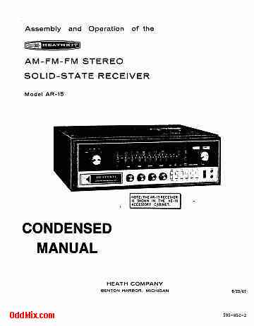 Heathkit AR-15 AM-FM Stereo Solid State Receiver