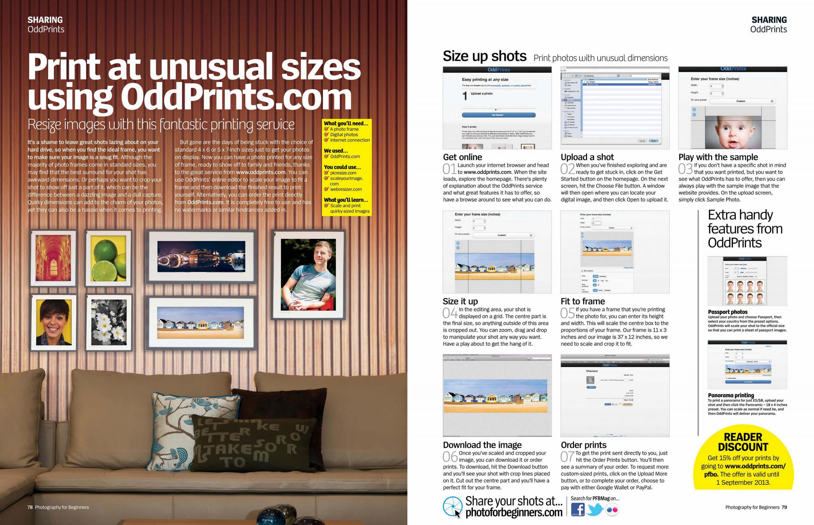 oddprints easy printing for