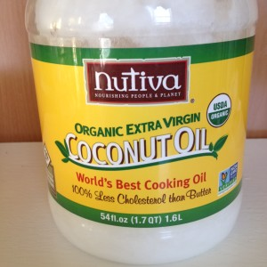 My Current Favorite Coconut Oil