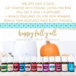October 2016 Essential Oils Sale