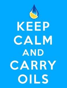 Keep Calm and Carry Essential Oils