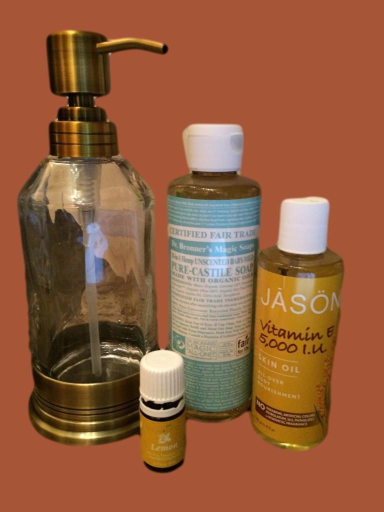 DIY Moisturizing Foaming Hand Soap Recipe