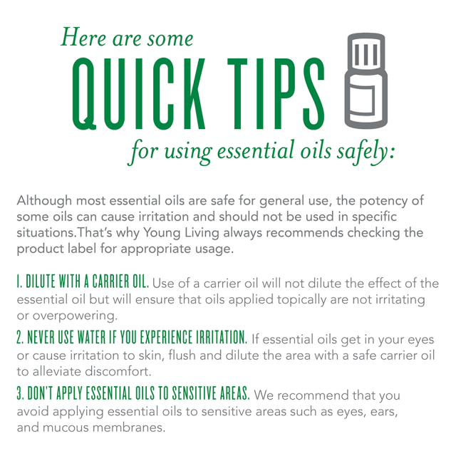Essential Oils Safety Usage Tips