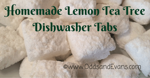 Homemade Dishwasher Tablets (No Borax)