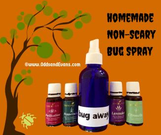 HomemadeNon-ScaryBug Spray