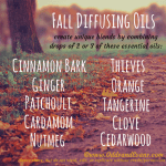 Fall Essential Oil Diffuser Blends #youngliving #essentialoils #diffusing