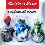 Christmas Decorations Vases Holiday Easy