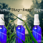 DIY Natural Stay Away Sprays - Homemade pest control using essential oils plus other uses