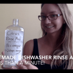 how to make your own dishwasher rinse aid in under one minute!
