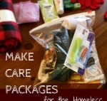 Make Homeless Care Packages Item Ideas Plus Printable List for Blessing Bags | OddsandEvans.com