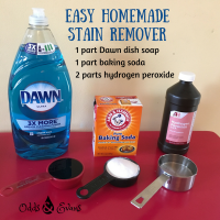 Easy Homemade Stain Remover - (How To Get Stains Out of ...