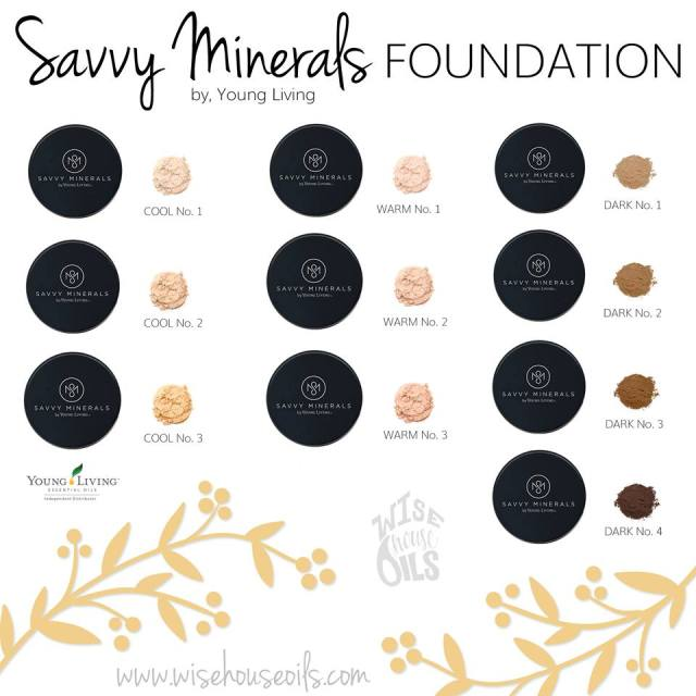 Are you warm or cool makeup tone Savvy Minerals natural makeup colors