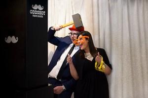 photobooth in azione puglia bari